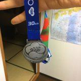 青梅マラソン2020_メダル