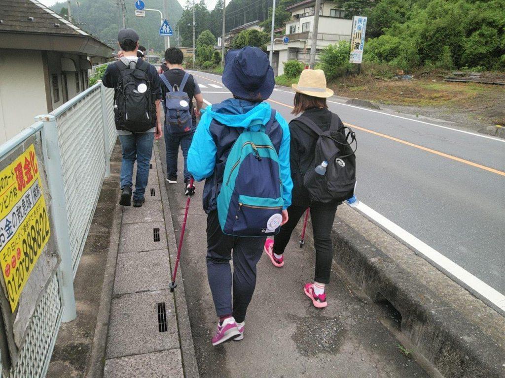 武蔵横手駅 スタート